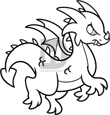 draw simple dragon step step darkonator drawinghub