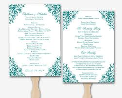 Wedding Program Templates Word Wedding Program Templates For Word