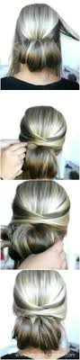 easy hairstyles for waitress s this easy hairstyle looks especially nice with 2 different shades