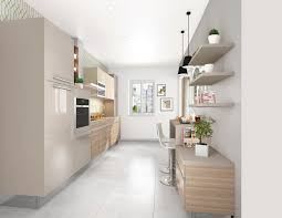 cuisine couloir cuisine dans couloir cuisine salon salle manger amenager salon