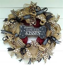 how to make a mesh wreath how to make a burlap deco mesh wreath for pet