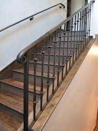 cool metal banister rails 56 in home remodel ideas with metal