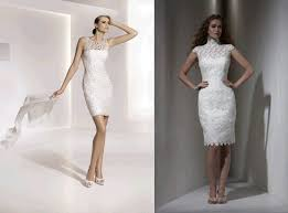 form fitting bridesmaid dresses and form fitting knee length wedding dresses
