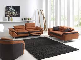 canap relax moderne canapé moderne relax 3 places 2 places tissu têtières amovibles