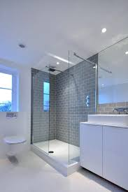 glass bathroom tiles ideas gray shower tile gray shower tile bathroom contemporary with