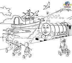 train coloring pages childrens pictures thomas train