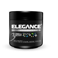 Elegance by Amazon Com Elegance Triple Action Hair Gel Blue 8 8 Ounce Beauty