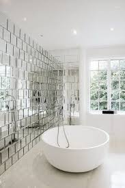 Background Wall Mirror Wall Tiles Contemporary Bedroom by Decorating A Home On A Budget Bathroom Inspiration Bathtubs And