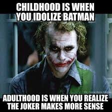 Dark Knight Joker Meme - the dark night joker more lovable than batman