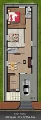 way2nirman 200 sq yds 25x72 sq ft east face house 2bhk floor plan
