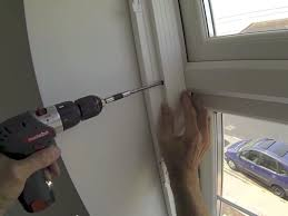 Putting Up Blinds In Window How To Install Interior Vinyl Shutters To A Upvc Recessed Window