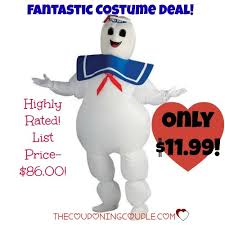 stay puft marshmallow costume ghostbusters stay puft marshmallow costume only 11 99