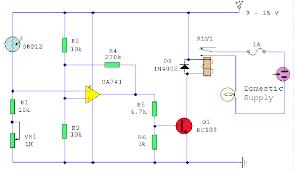light sensor circuits optical sensor
