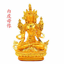white tara buddha tantric buddhism supplies nepal seated buddha