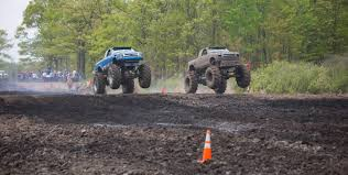 monster truck mud bogging videos home mud fest hillman mn