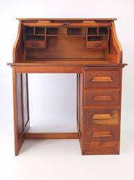 Oak Roll Top Secretary Desk by Small Oak Roll Top Desk