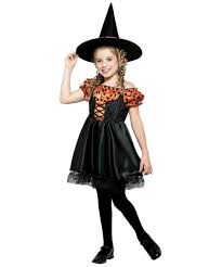halloween costume kids orange witch costume kids costume witch halloween costume at