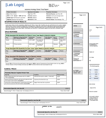 clinical trial report template next generation sequencing clinical reporting system genomoncology