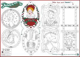 make your own portrait christmas tree decorations national