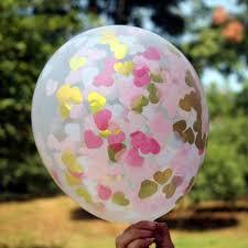 Decoration De Ballon Pour Mariage Online Get Cheap Rose Confettis Ballons Aliexpress Com Alibaba