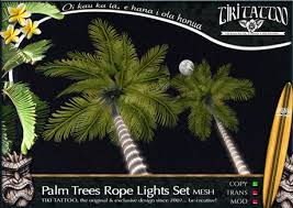second marketplace tiki copy rope lights 3d palm