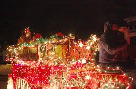 sauk prairie holiday light parade and tree lighting galleries