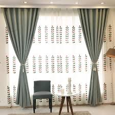 Kitchen Curtain Material by Aliexpress Com Buy Byetee Cotton Linen Curtain Fabrics Finished