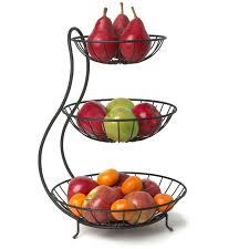 3 tier fruit basket andover mills carstensen arched 3 tier fruit bowl reviews wayfair ca