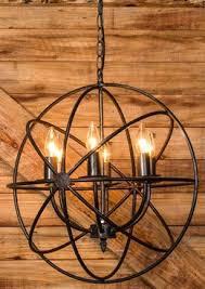 Orb Chandeliers Metal Sphere Orb Chandelier With In Power