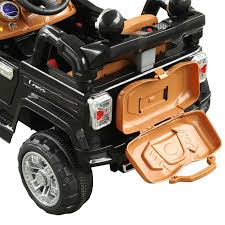 jeep christmas decorations aosom 12v kids jeep style electric battery powered ride on car