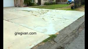 Covering Old Concrete Patio by Watch This Before You Build A Concrete Driveway Design And