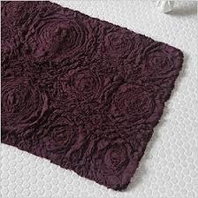 Purple Bath Rugs Plum Bathroom Rugs Roselawnlutheran