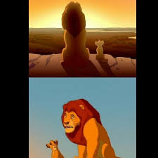Lion King Meme - lion king shadowy place meme generator
