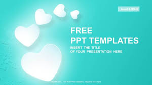 powerpoint templates free download heart love hearts abstract powerpoint templates download free