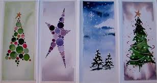 christmas cards green lane arts original watercolour designs