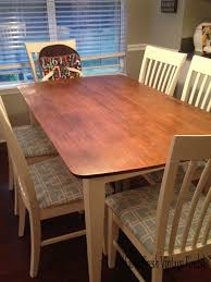 Furniture General Finishes Gel Stain Stain Dark Walnut Wood by General Finishes Gel Stain In Java For Table Top Annie Sloan