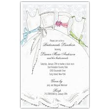 bridesmaids luncheon invitations bridal party bridesmaids luncheon invitations paperstyle
