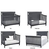 Sleigh Crib Convertible Delta Children Bennington Elite Sleigh 4 In 1 Convertible Crib