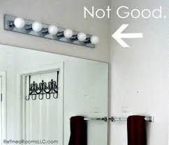 Transitional Vanity Lighting Solbi 3 Light Vanity Fixture Chrome Transitional Bathroom Intended