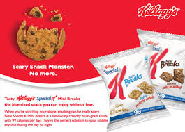 special k mini breaks creative sling brands in