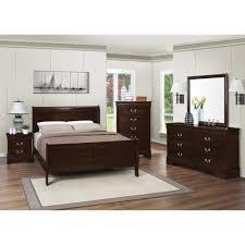 Bedroom Furniture Full Size by Furniture Home Upholstered Sleigh Platform Bedroom Furniture Set