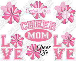 eps format vs jpeg cheer mom cheer life circle and split monogram cutting file set in