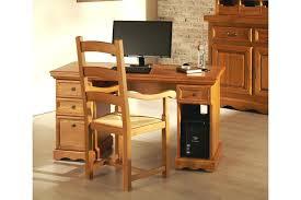 bureau informatique bois massif bureau informatique bois bureau la bureau ordinateur bois metal