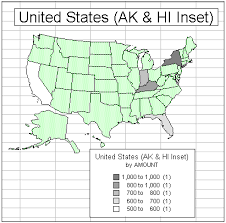 us map states excel put your excel data on the map techrepublic