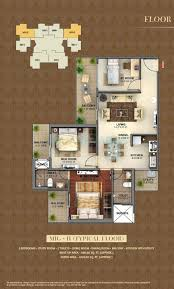 2 bhk 1200 sq ft apartment for sale in mahagun mantra i at rs