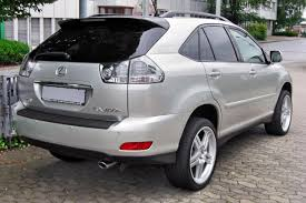 lexus rx 400h review 2007 lexus rx 400h information and photos momentcar