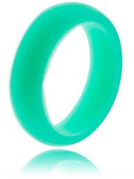 Silicone Wedding Ring by 5mm Women U0027s Aqua Marine Silicone Wedding Band