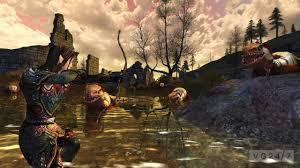 rohan wallpaper lotro riders of rohan screenshots show very bad men and monsters