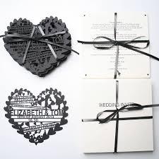 Invitation Cards Uk Hearts U0027 Laser Cut Wedding Invitation By Ohmydear