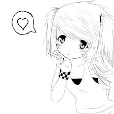 anime coloring pages cat face coloringstar